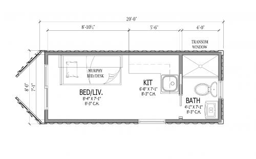 Dwell160 floor plan