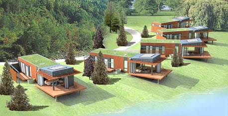 The Urban Green Space- Eco Friendly Homes