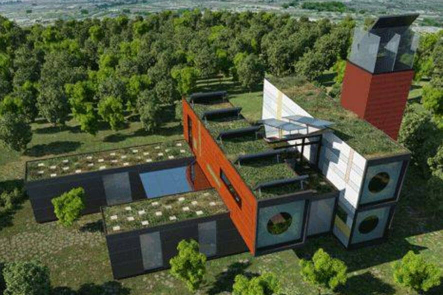 Eco friendly homes the urban green space dwell for Eco green builders